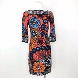 Ali Ro | Floral Bold Print Mini Dress